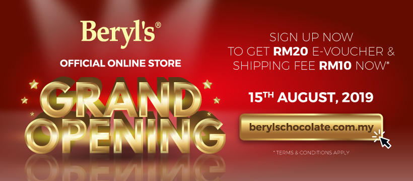 Beryl's Online Webstore Officially launched