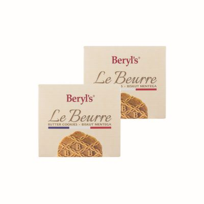 Le Beurre Butter Cookies Twin Pack