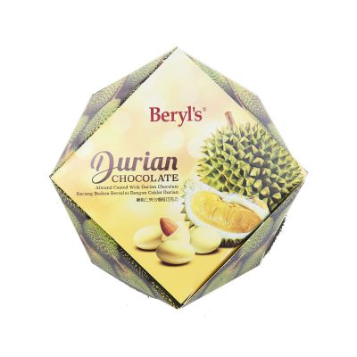 Beryl's Almond Coated With Durian White Chocolate 100g