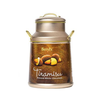 Beryl's Milk Can Tiramisu Almond White Chocolate 120g