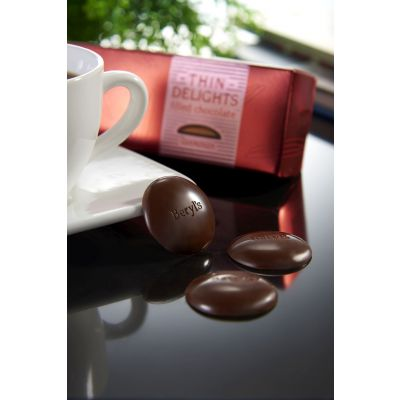 Thin Delights - Bittersweet Chocolate With Gianduja Filling 70g