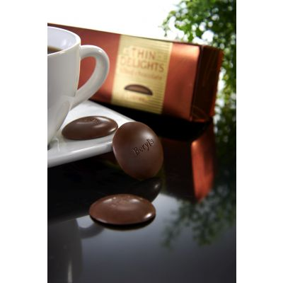 Thin Delights - Milk Chocolate With Caramel Filling 70g