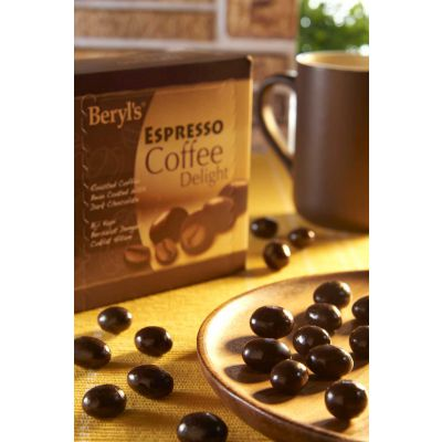Espresso Coffee Beans Coated With Dark Chocolate 120g