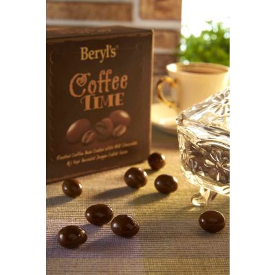 Coffee Time Coffee Beans Coated With Milk Choc 120g