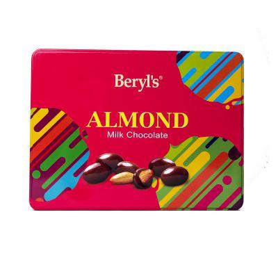 Tin Almond Coated With Milk Chocolate 300g