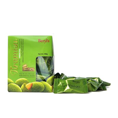 Tiramisu Almond Green Tea Chocolate 100g