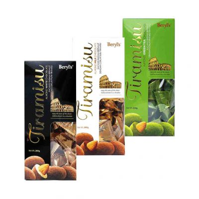 Beryl's Tiramisu Chocolate 200g - Triple pack