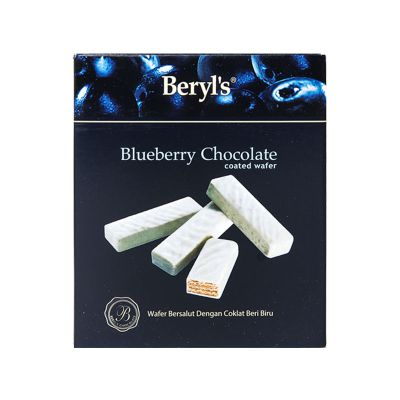 Wafer Coated With Blueberry White Chocolate 40g