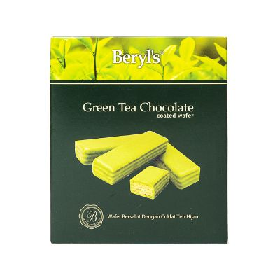Wafer Coated With Green Tea Chocolate 40g