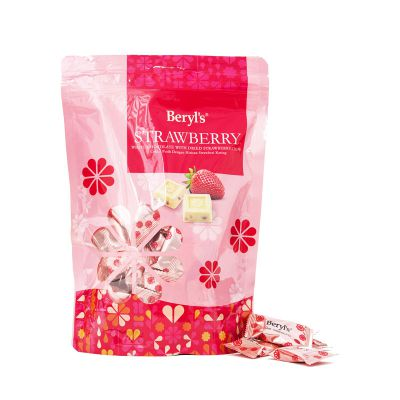 White Chocolate With Dried Strawberry Chips 280g