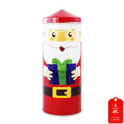 Beryl's Christmas Pencil Tower Chocolate & Cookies 200g - Red