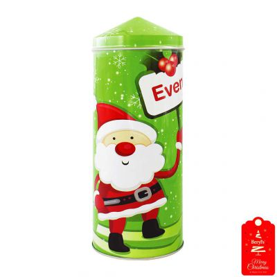 Beryl's Christmas Pencil Tower Chocolate & Cookies 200g - Green