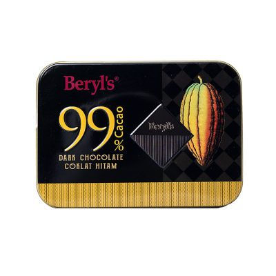 Beryl's 99% Cacao Dark Chocolate Mini Tin 108g