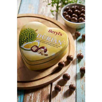 Freeze Dried Durian Coated with Milk Chocolate 80g