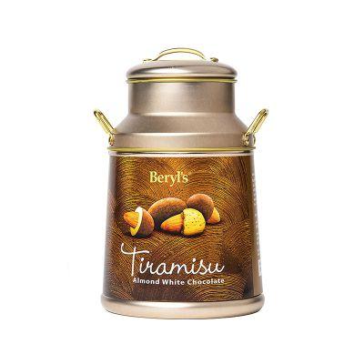 Beryl's Milk Can Tiramisu Almond White Chocolate 120g