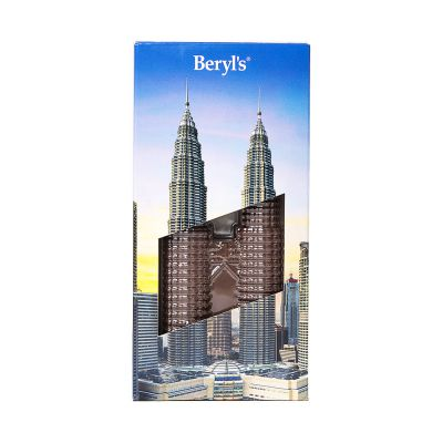 Beryl's Twin Tower Milk Chocolate Bar 75g [BEST BEFORE: FEB2021]