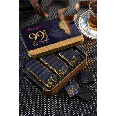 Beryl's 99% Cacao Dark Chocolate Mini Tin 108g
