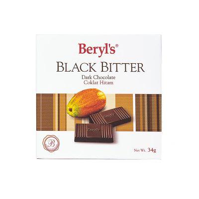 Black Bitter Chocolate 34g