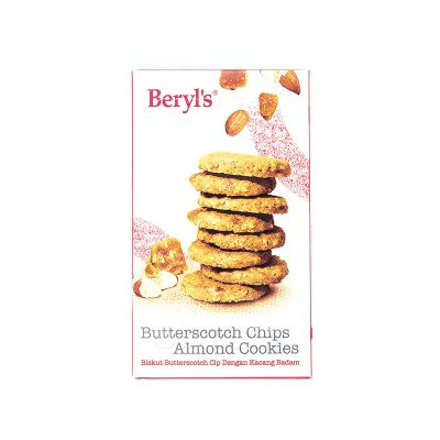 Butterscotch Chips Almond Cookies 100g