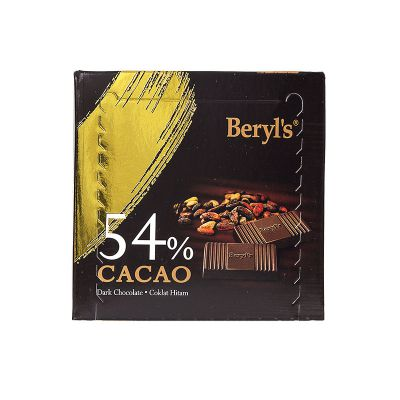 Dark Chocolate 54% Cacao 60g