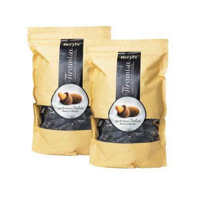 Beryl's Almond Tiramisu Dark Chocolate 800g - Pack of 2 [BEST BEFORE: 31 JAN,2021]