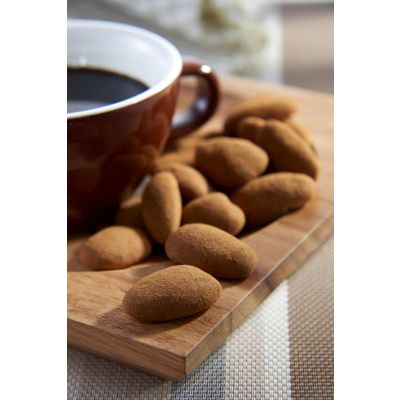 Dragees Secrets - Pecan Coated With Cappuccino Chocolate & Cinnamon Powder 180g