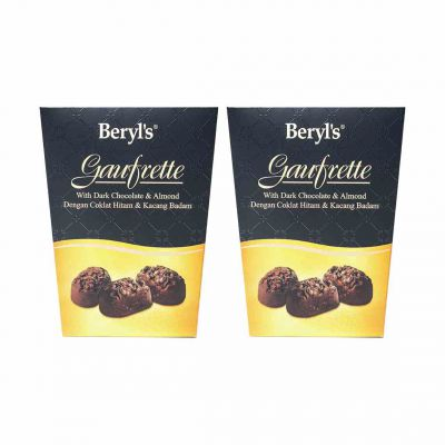 Gaufrette With Dark Chocolate 105g Twin Pack [BEST BEFORE: 10NOV,2020]