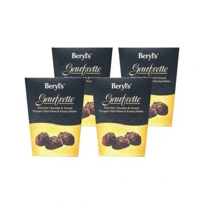 Gaufrette With Dark Chocolate 105g - Pack of 4