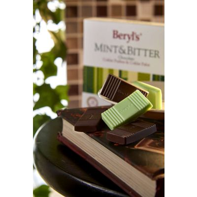 Mint & Bitter Chocolate 34g