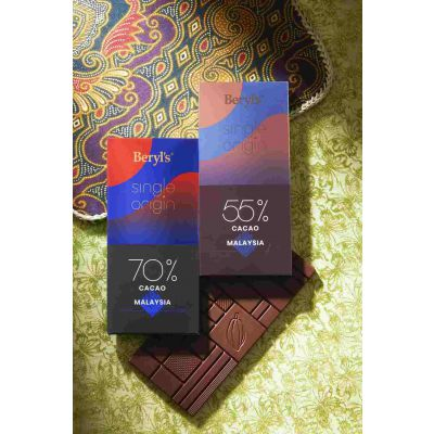 Single Origin 70% Cacao Dark Chocolate 60g - Malaysia
