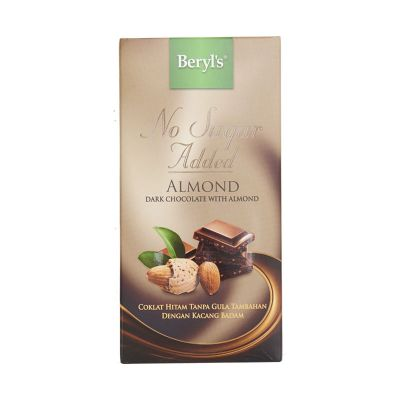 NSA Dark Chocolate With Almond 85g