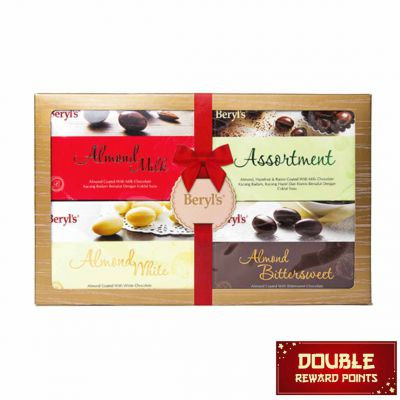 Assorted 4 in 1 70g Chocolate 280g