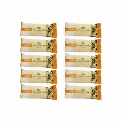 Beryl's Granola Bar Original 23g - Pack of 10