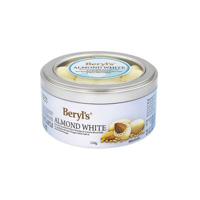 Almond Coated With White Chocolate & Malf Puff 120g
