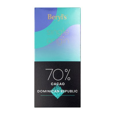 Single Origin 70% Cacao Dark Chocolate 60g - Dominican Republic