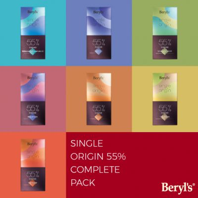 Single Origin 55% Cacao Dark Chocolate 60g Combo Pack