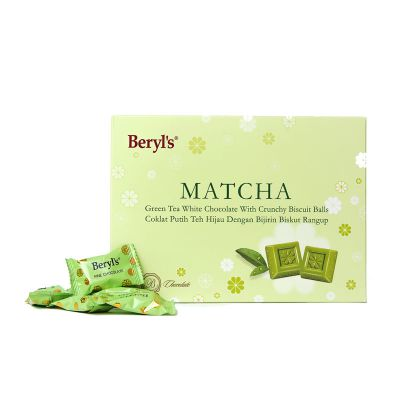 Beryl's Snow Flower Matcha Green Tea White Chocolate 150g
