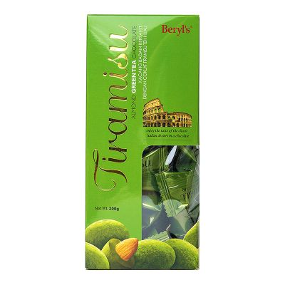 Tiramisu Almond Green Tea Chocolate 200g