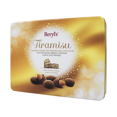 Tiramisu Almond Milk Chocolate 200g Tin