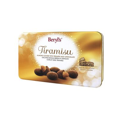 Tiramisu Almond Milk Chocolate 100g Tin