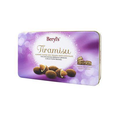 Tiramisu Almond White Chocolate 100g Tin